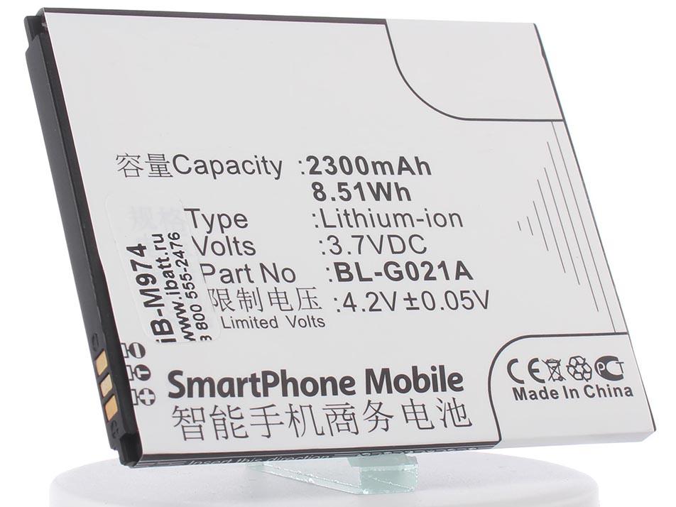 Аккумулятор для телефона iBatt BL-G021A для Fly IQ446, IQ446 Magic, GN800, GN708W, GN708T, Elegance 2, NEXT аккумулятор для телефона ibatt ib bl g021a m974