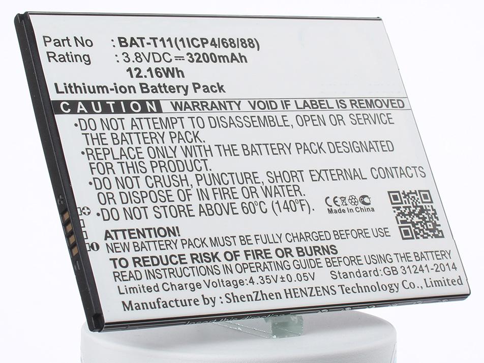 Аккумулятор для телефона iBatt BAT-T11, KT.0010S.018 для Acer T04, Liquid Z630, Liquid Z630S аккумулятор для телефона ibatt bat a12 kt 00104 002 для acer liquid z520 liquid z520 duo liquid z520 dual sim