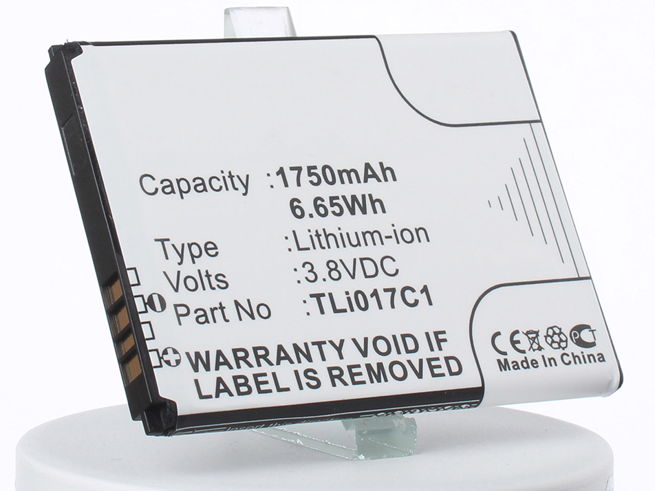 Аккумулятор для телефона iBatt TLi017C1 для Alcatel One Touch Streak, OT-4060, One Touch Pop 3 4.5 аккумулятор для телефона ibatt ib alcatel one touch pop 3 5 m1251