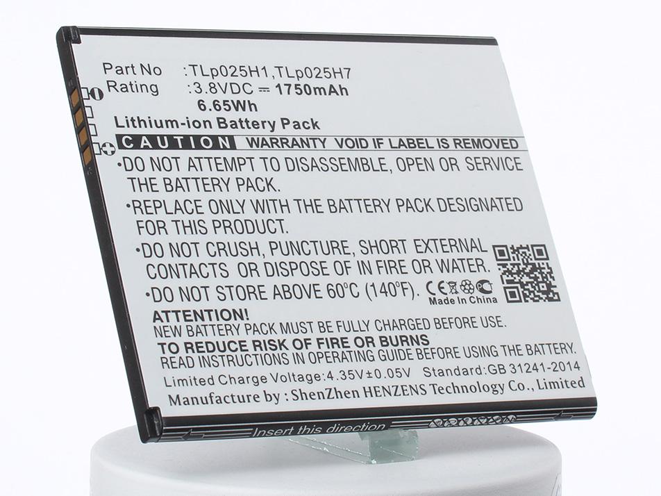 Аккумулятор для телефона iBatt TLp025H1, TLp025H7 для Alcatel One Touch POP 4, OT-5051, One Touch POP 4 LTE