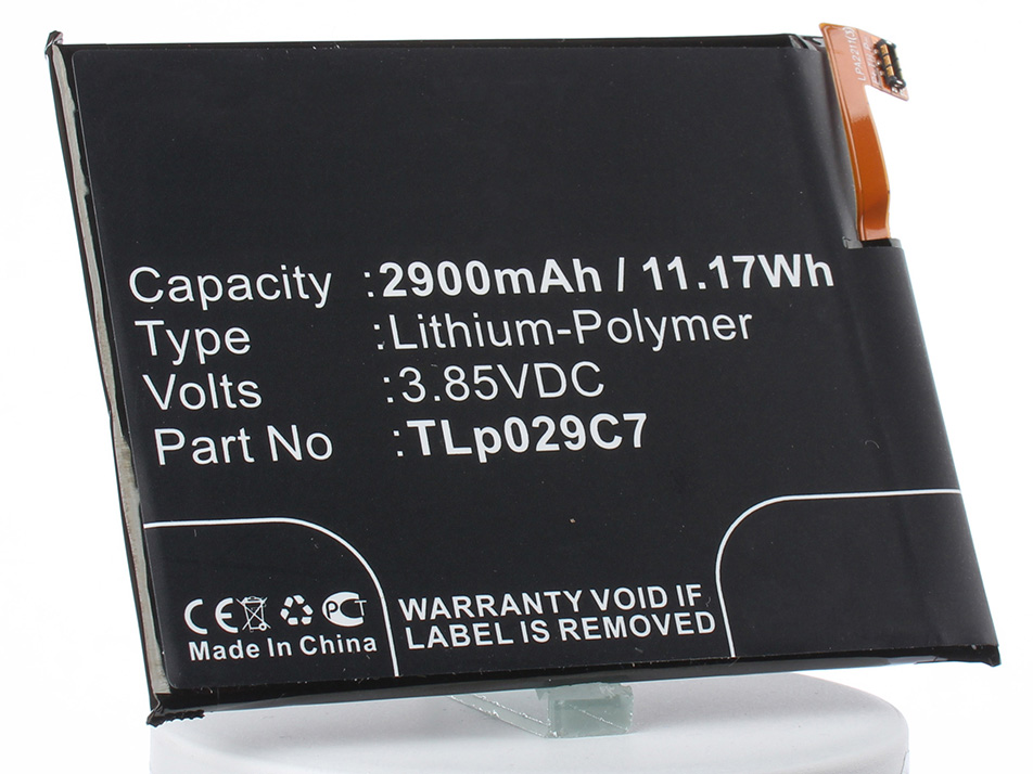 Аккумулятор для телефона iBatt TLp029C7 для Alcatel OT5026D, One Touch Idol 3C, One Touch Idol 3C TD-LTE цена