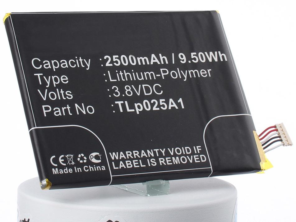 Аккумулятор для телефона iBatt TLp025A1 для Vodafone VF-895N, One Touch POP 2 5.0, Smart Prime 6, OT-7043, VF-895, OT-7043A