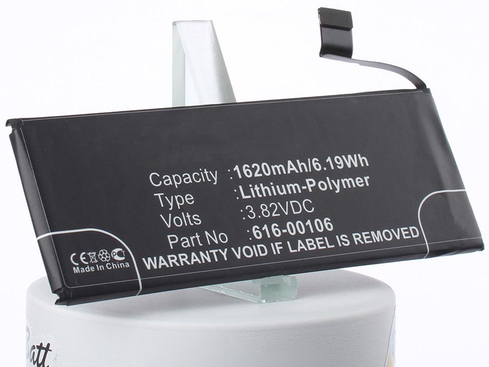 Аккумулятор для телефона iBatt 616-00106, 616-00107 для Apple A1723, A1662, A1724 jillionaire туфли jillionaire 05 gr 00107 01z