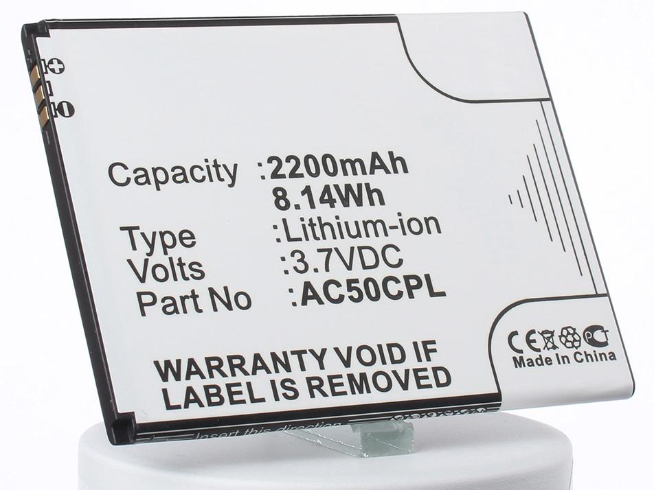 Аккумулятор для телефона iBatt AC50CPL, BSE70H для Archos 50c Platinum аккумулятор для телефона ibatt ac2000a2 ac2000a1 для archos 50c oxygen