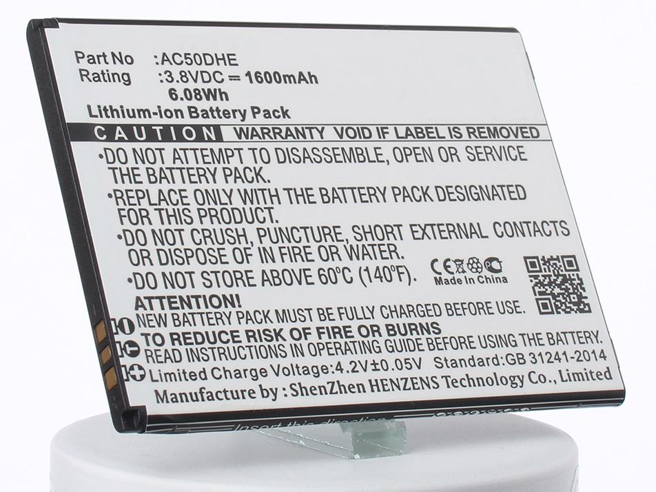купить Аккумулятор для телефона iBatt AC50DHE для Archos 50d Helium, 50d Helium 4G, A50D Helium по цене 810 рублей