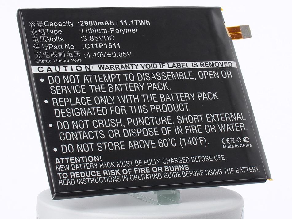 Аккумулятор для телефона iBatt C11P1511 для Asus ZenFone 3, ZE552KL, ZenFone 3 Deluxe Dual SIM Glob цена