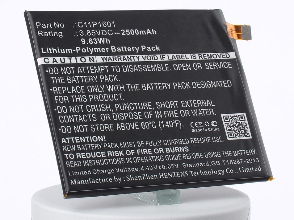 Аккумулятор для телефона iBatt C11P1601 для Asus ZE520KL, ZenFone 3 5.2, ZenFone 3 5.2 Dual SIM аккумулятор для телефона ibatt c11p1516 для asus zenfone 3 ultra zu680kl zenfone 3 ultra dual sim