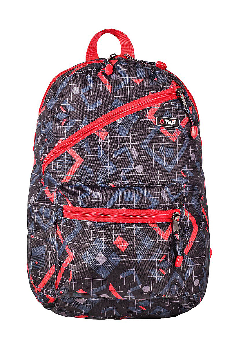Рюкзак ТАЙФ РГ-0024 рр15л, красный, черный, серый рюкзак городской kingcamp peach 28l цвет красный серый