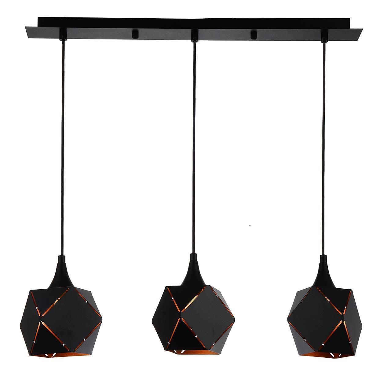 Подвесной светильник ST Luce SL258.403.03, черный светильник st luce enigma sl258 443 01