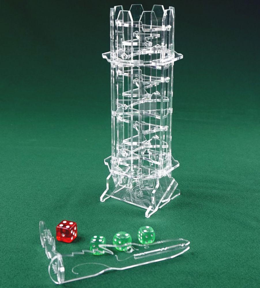 Аксессуар для настольных игр Правильные игры LP 008-064 башня для бросания кубиков dice tower тотем орков