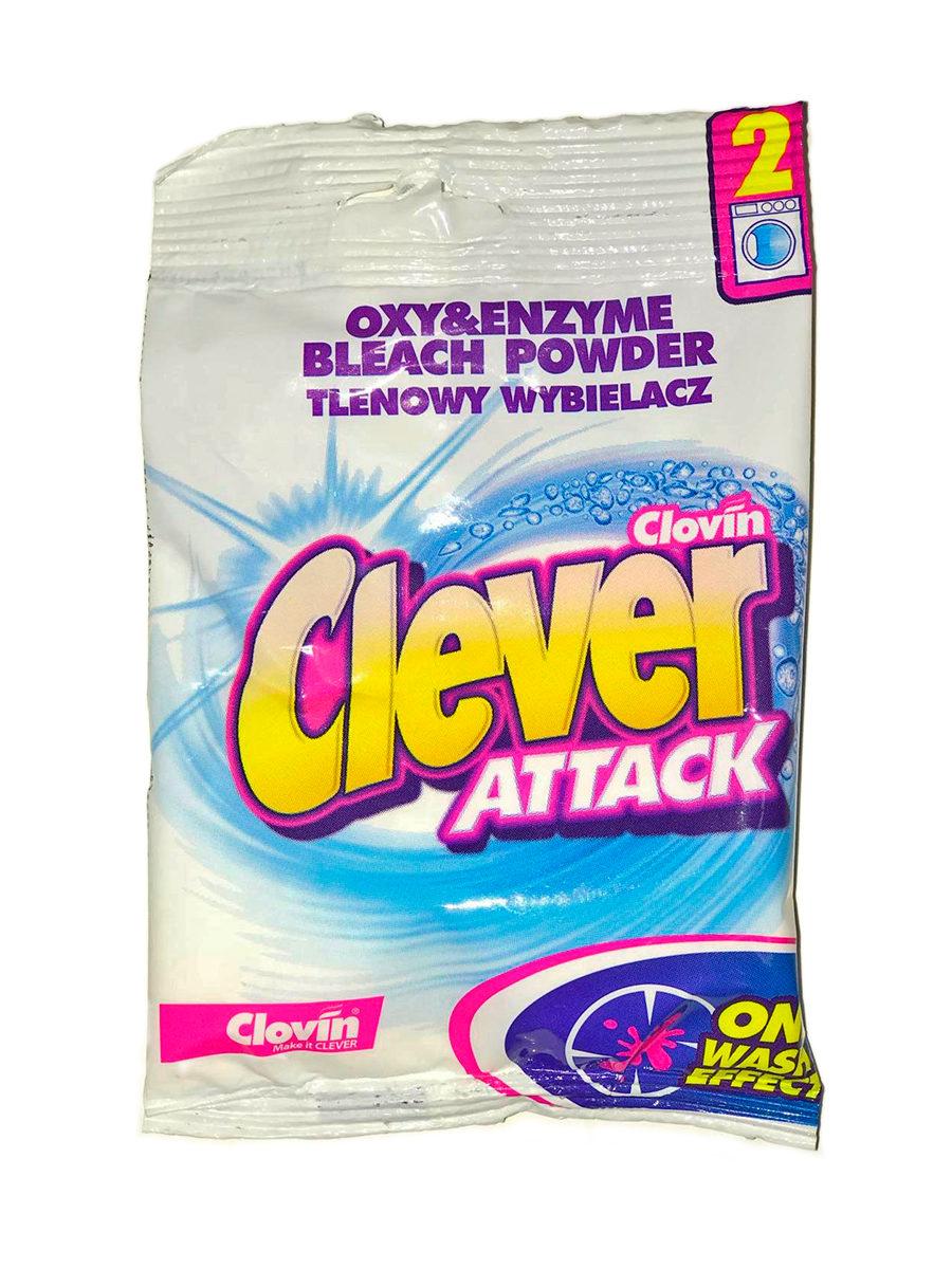 Отбеливатель Clovin для белых тканей, с активным кислородом