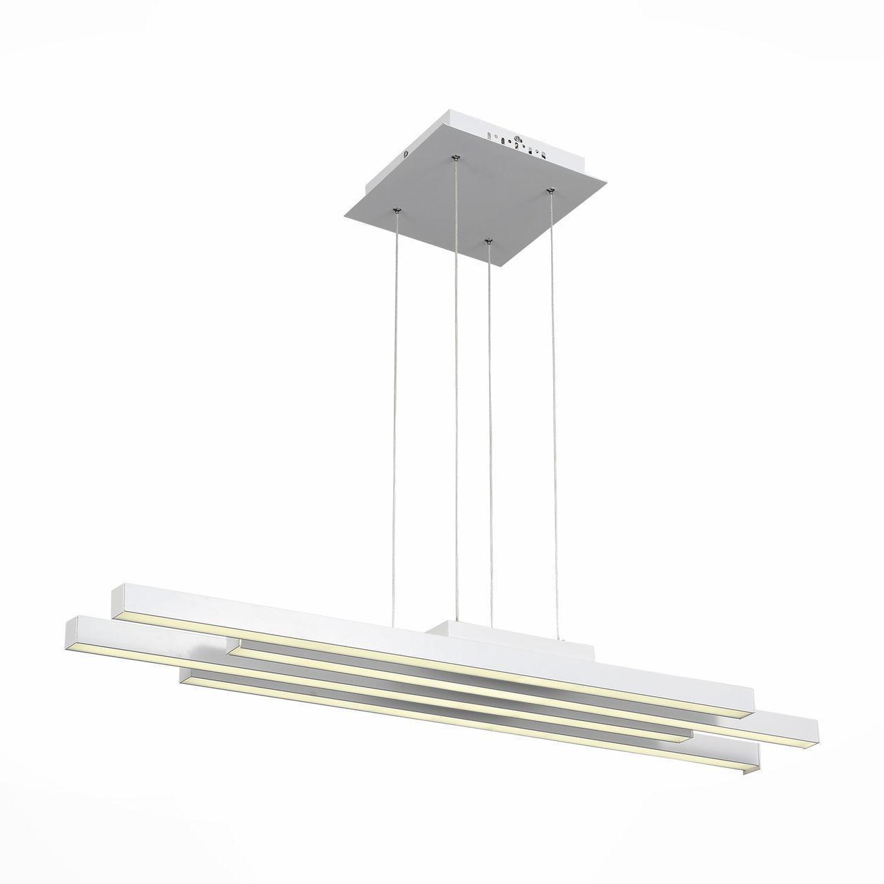 Фото - Подвесной светильник ST Luce SL933.503.04, белый светильник подвесной st luce trina sl274 503 03 3xe27x40w 50 x 50 x 138 см