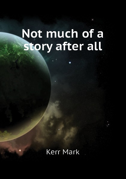 Not much of a story after all