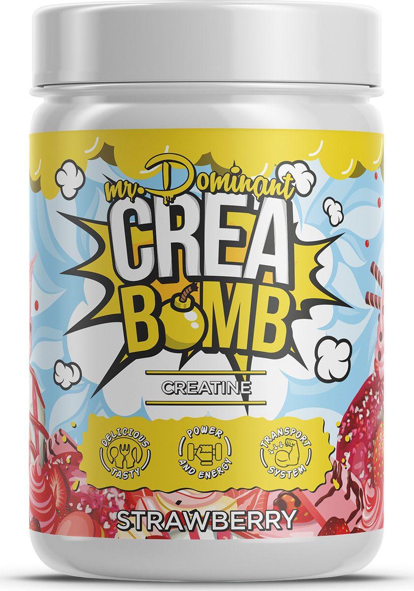 Напиток сухой Mr. Dominant Crea Bomb, концентрат, клубника, 500 г