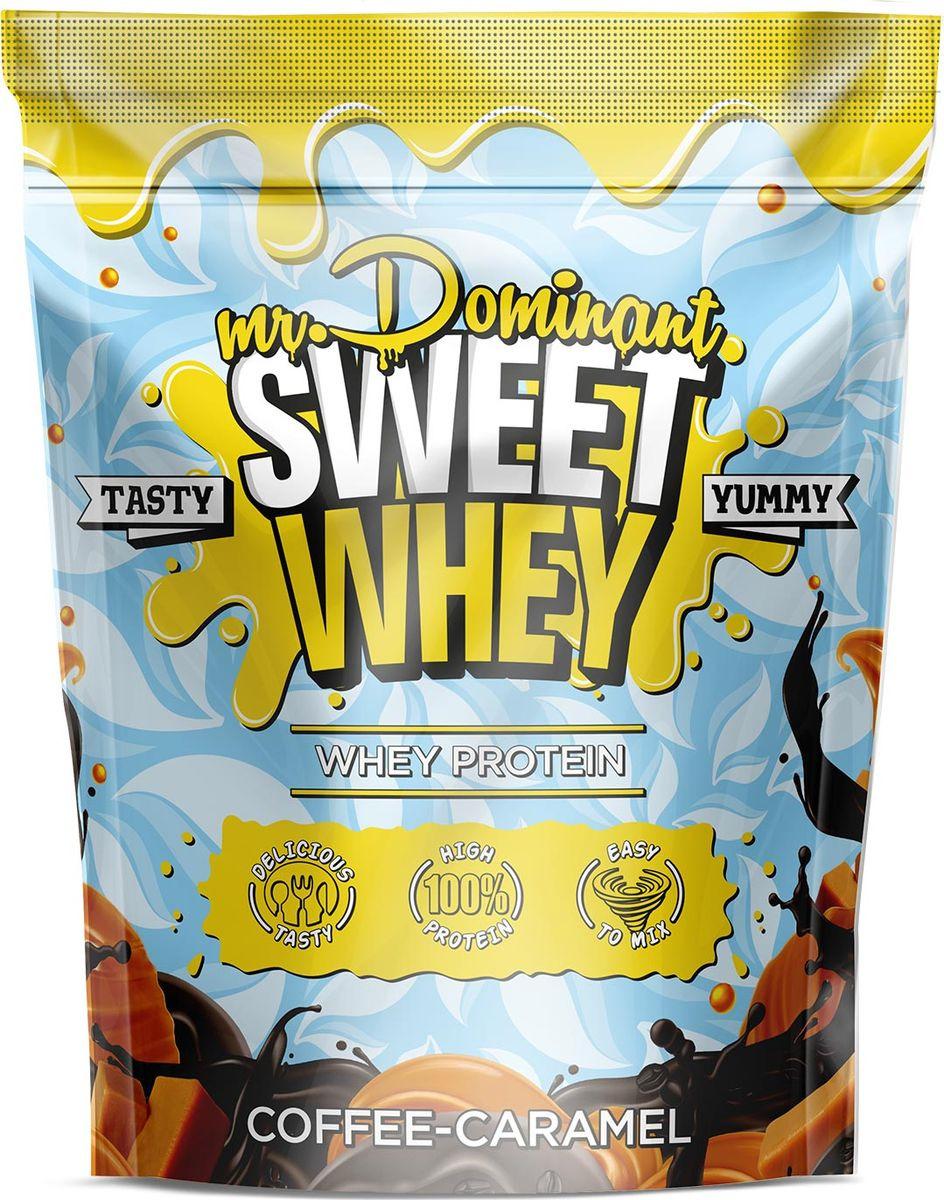 Напиток сухой Mr. Dominant Sweet Whey, концентрат, кофе-карамель, 900 г q10 liquid напиток концентрат 11мл 25 флаконы