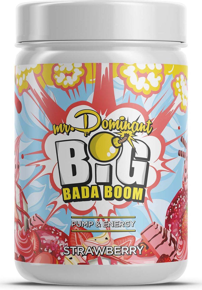 Напиток сухой Mr. Dominant Big Bada Boom, концентрат, клубника, 300 г