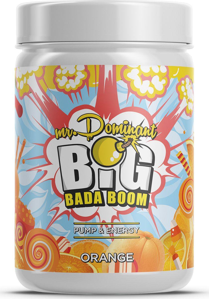 Напиток сухой Mr. Dominant Big Bada Boom, концентрат, апельсин, 300 г недорго, оригинальная цена