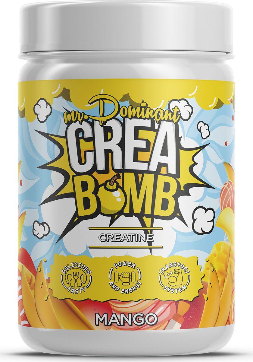 Напиток сухой Mr. Dominant Crea Bomb, концентрат, манго, 500 г