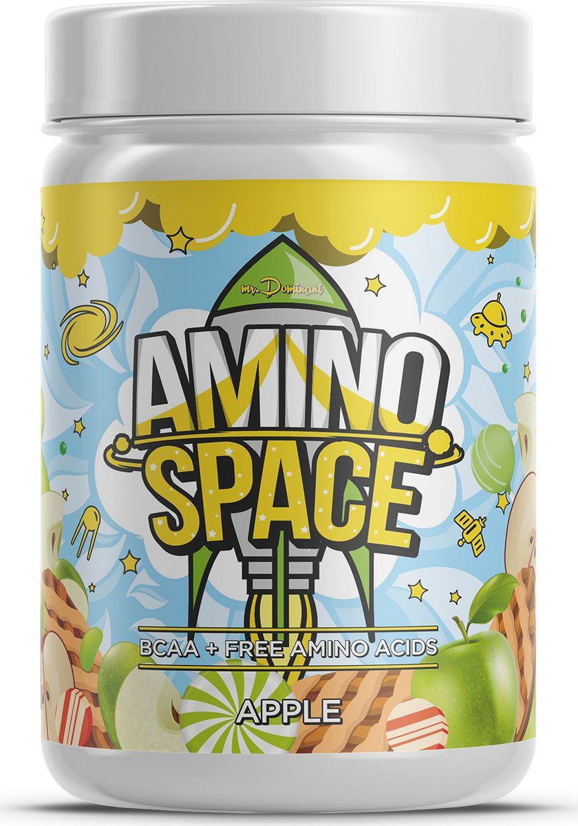 Напиток сухой Mr. Dominant Amino Space, концентрат, яблоко, 300 г night amino