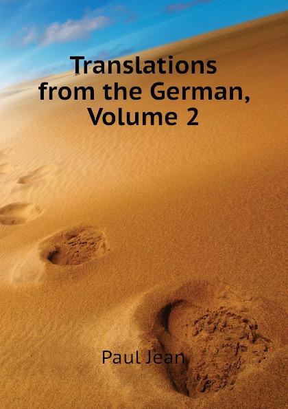 Фото - Paul Jean Translations from the German, Volume 2 jean paul gaultier le male