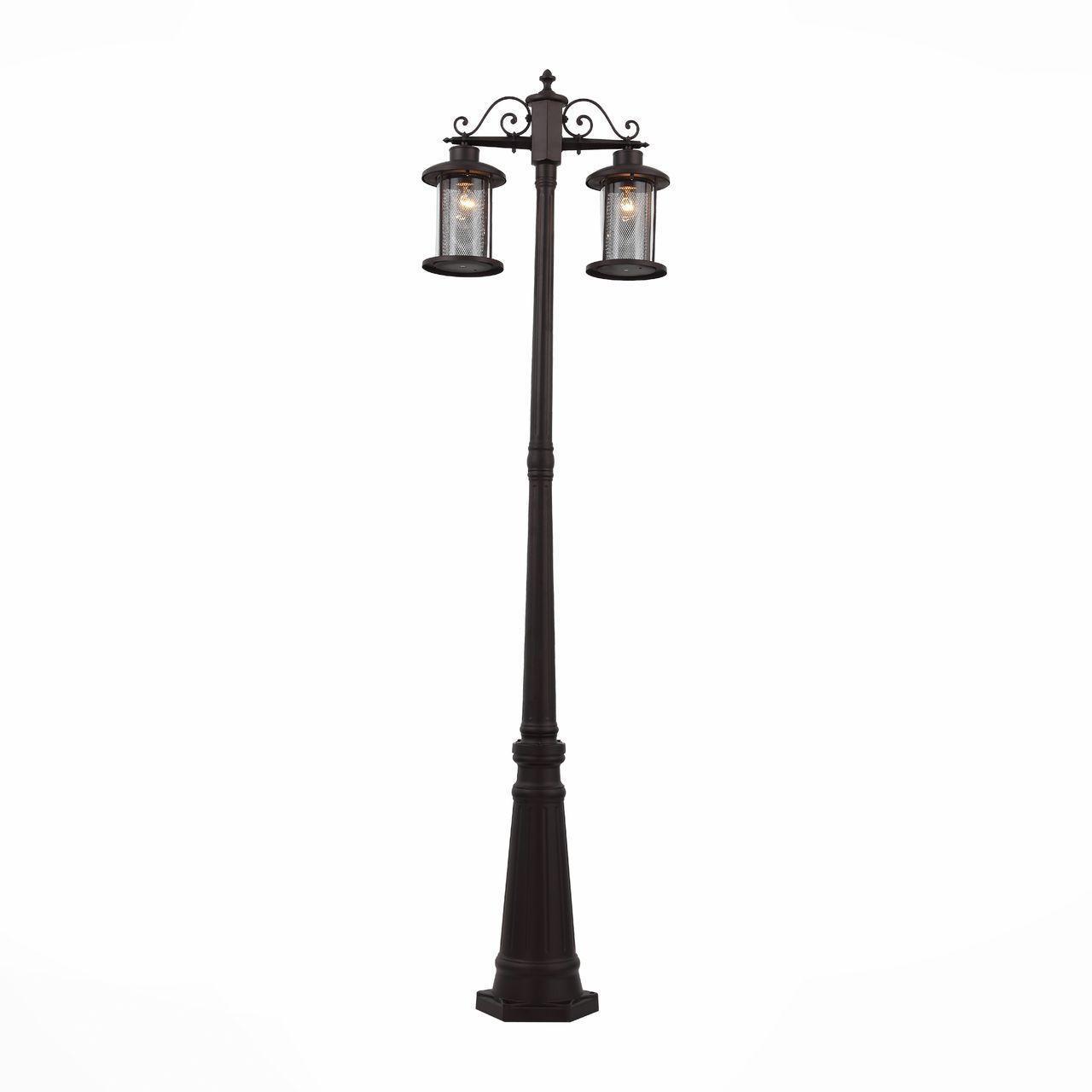 цена на Уличный светильник ST Luce SL080.425.02, коричневый