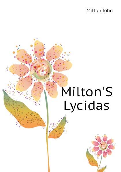 Milton John Milton.S Lycidas