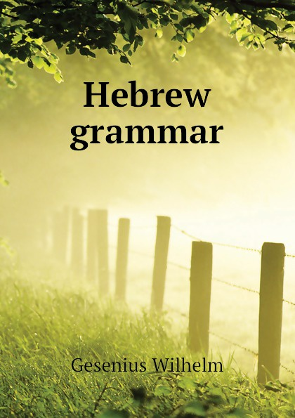 Gesenius Wilhelm Hebrew grammar