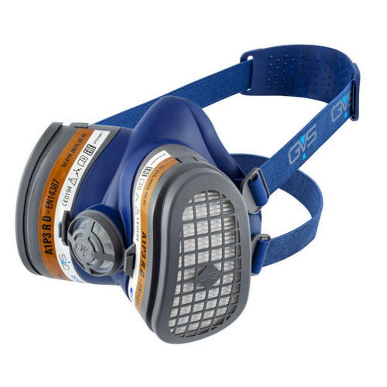 Респиратор/маска GVS фильтры gvs spr336idud сменные elipse p3 с защитой от запаха для полумасок spr337 502