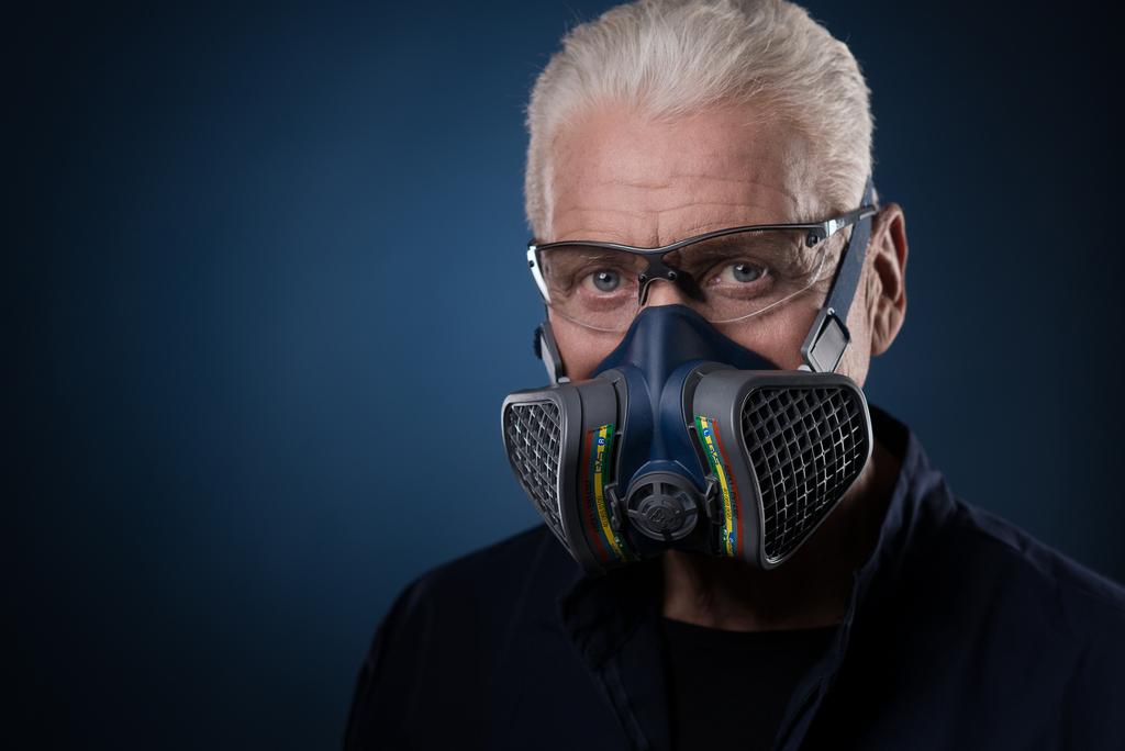 Респиратор/маска GVS 5, синий GVS