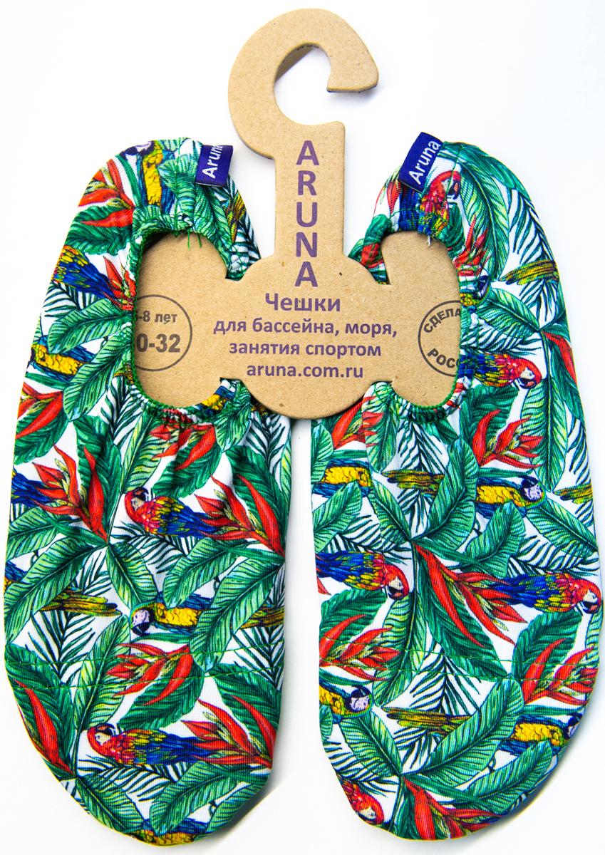 Чешки ARUNA чешки для девочки aruna цветы цвет черный оранжевый 49 цветы размер 30 32