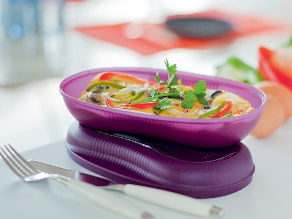 Тарелка для СВЧ Tupperware В44, фиолетовый Tupperware