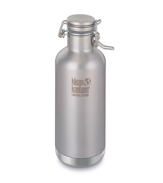 Бутылка для воды Klean Kanteen 1000359, серебристый
