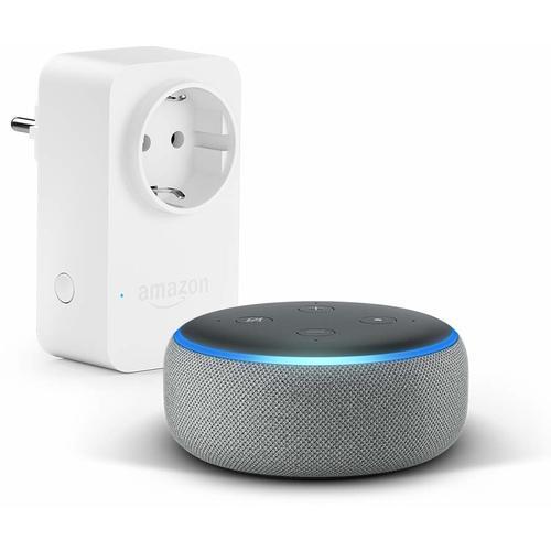 Умная колонка Amazon Echo Dot 3-го поколения, серый dot