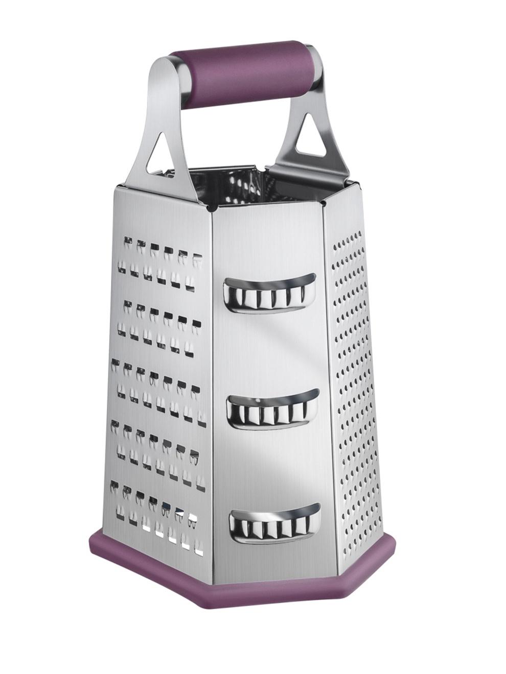 Терка Guffman Casa, фиолетовый терка шестисторонняя 13 13 23см нержавеющая сталь пластик упаковочный пакет