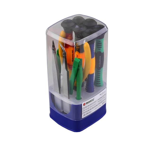 Набор инструментов Baku BK-621B, разноцветный набор kraftool отвертки для ремонта мобильных телефонов 12 предметов
