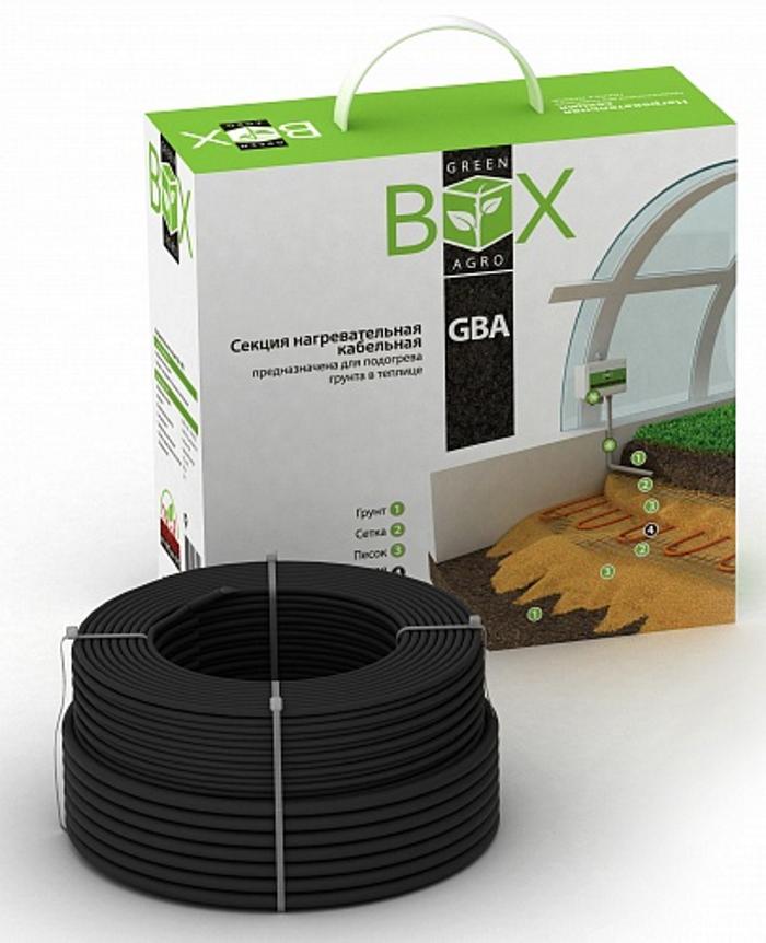 """Теплица GREEN BOX AGRO 20961482096148Система подогрева грунта Green Box Agro предназначена для подогрева верхнего почвенного слоя в теплицах, оранжереях, питомниках.Увеличивает урожай в 2 раза - подтверждено ФГБНУ """"Российским научно-исследовательским институтом информации и технико-экономических исследований по инженерно-техническому обеспечению агропромышленного комплекса».Цель - продление сезона выращивания культур за счет более ранней высадки в весеннее время и более позднего завершения периода вегетации в осеннее время; защиты культур от заморозков в условиях холодных ночей и неблагоприятной погоды в летний период.Принцип работы системы подогрева заключается в поддержании постоянной температуры почвы за счет циклов подачи-снятия питающего напряжения на тепловыделяющие элементы – резистивный нагревательный кабель, который устанавливается в слое грунта под корневой системой растений. Регулирование температуры осуществляется при помощи электронного терморегулятора, который замеряет температуру по датчику, установленному в подогреваемом слое грунта."""