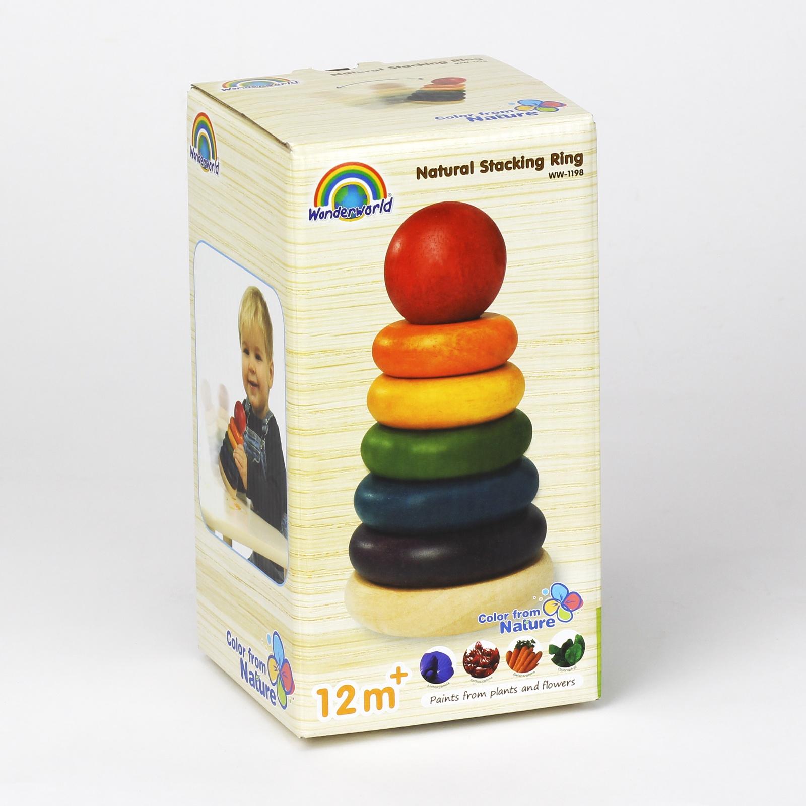 Пирамидка Wonderworld Логическая игрушка