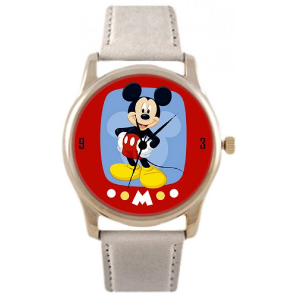 Часы Kitch Watch K-216K-216Наручные часы унисекс; Корпус: Стальной; Циферблат: Картинка; Стекло: Минеральное; Браслет: Кожаный ремешок; Водозащита: 30 м; Размер: 39х39 мм