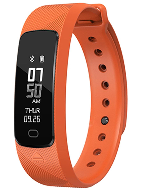 Фитнес-браслет SMA B2, оранжевый фитнес браслет sma b2 черный