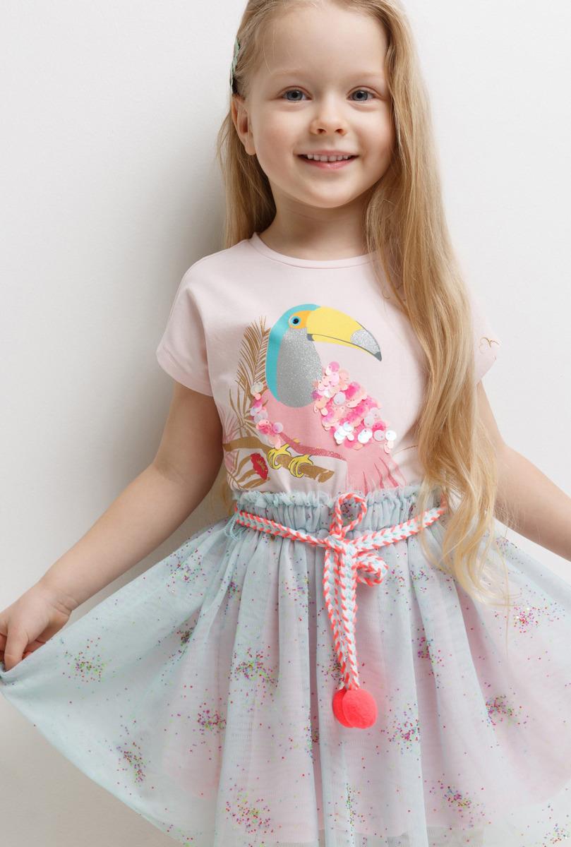 Юбка для девочки Acoola Parker, цвет: разноцветный. 20220180110_4400. Размер 11620220180110_4400