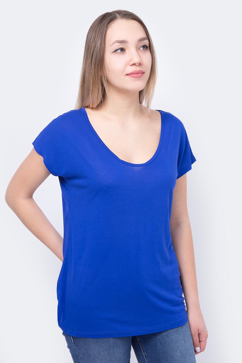 Футболка женская Mavi, цвет: синий. 164548-28291. Размер XL (48)164548-28291