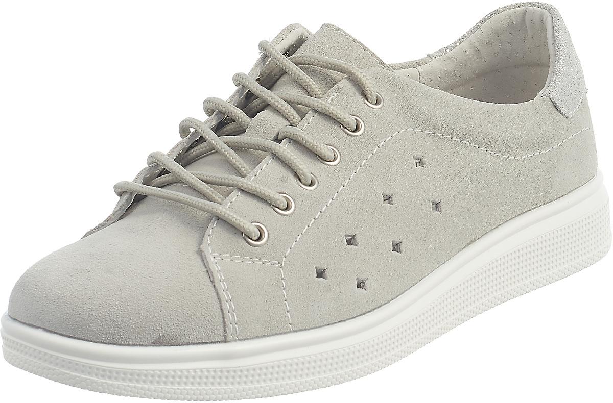 Кеды женские DeSTRA, цвет: серый. 6126-35-291. Размер 366126-35-291
