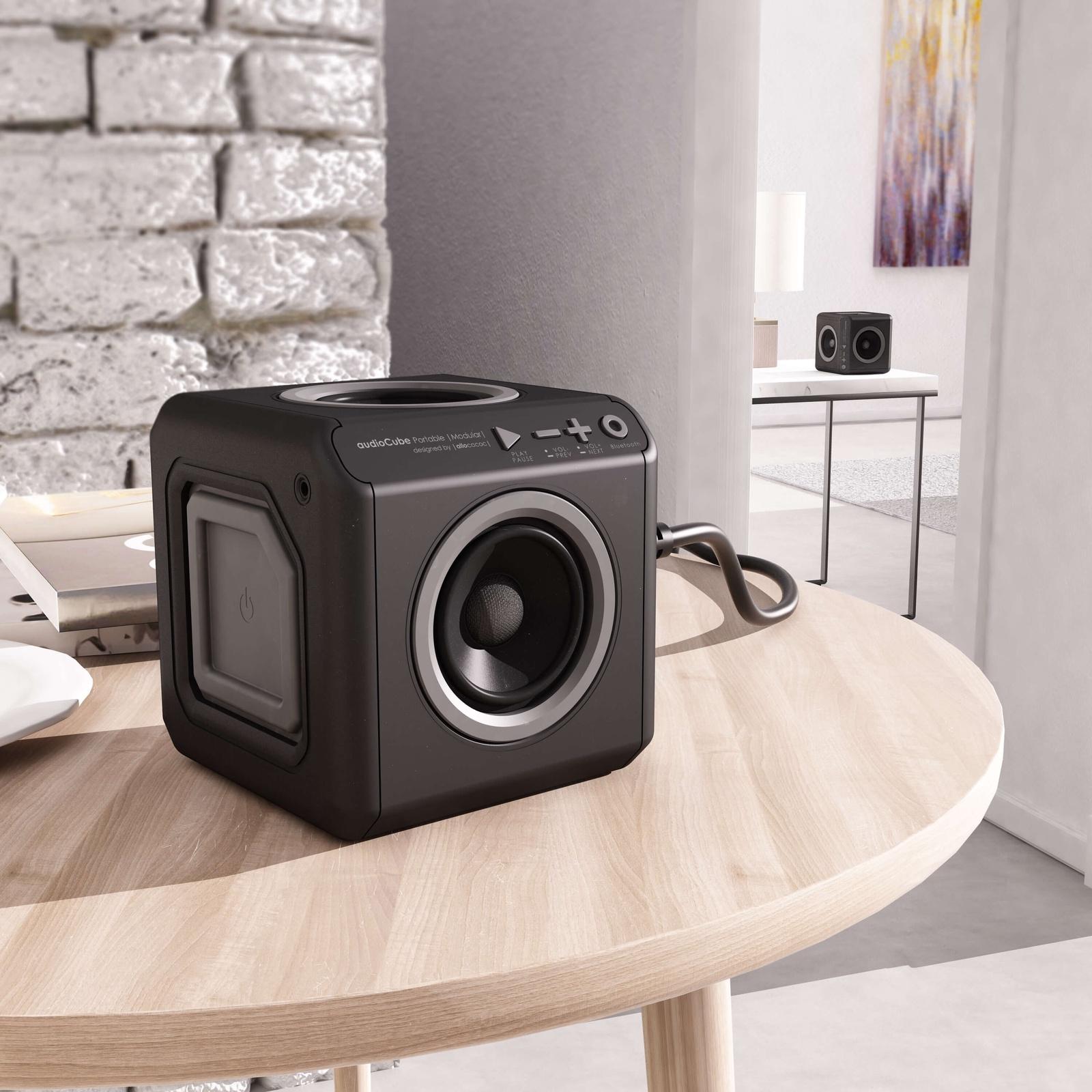 Беспроводная колонка Allocacoc Portable Modular EU BLACK