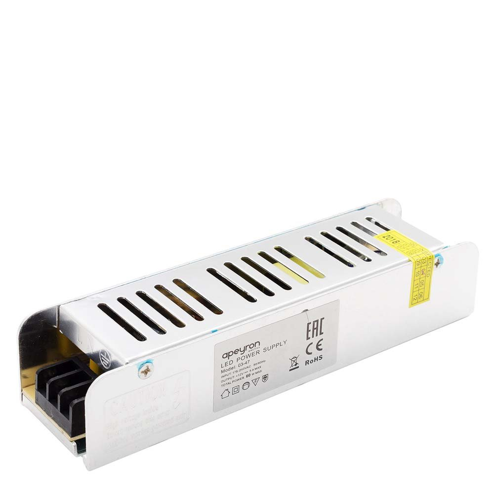 Блок питания для светильника APEYRON electrics 03-47, серебристый блок питания для светильника apeyron electrics 03 46 серебристый