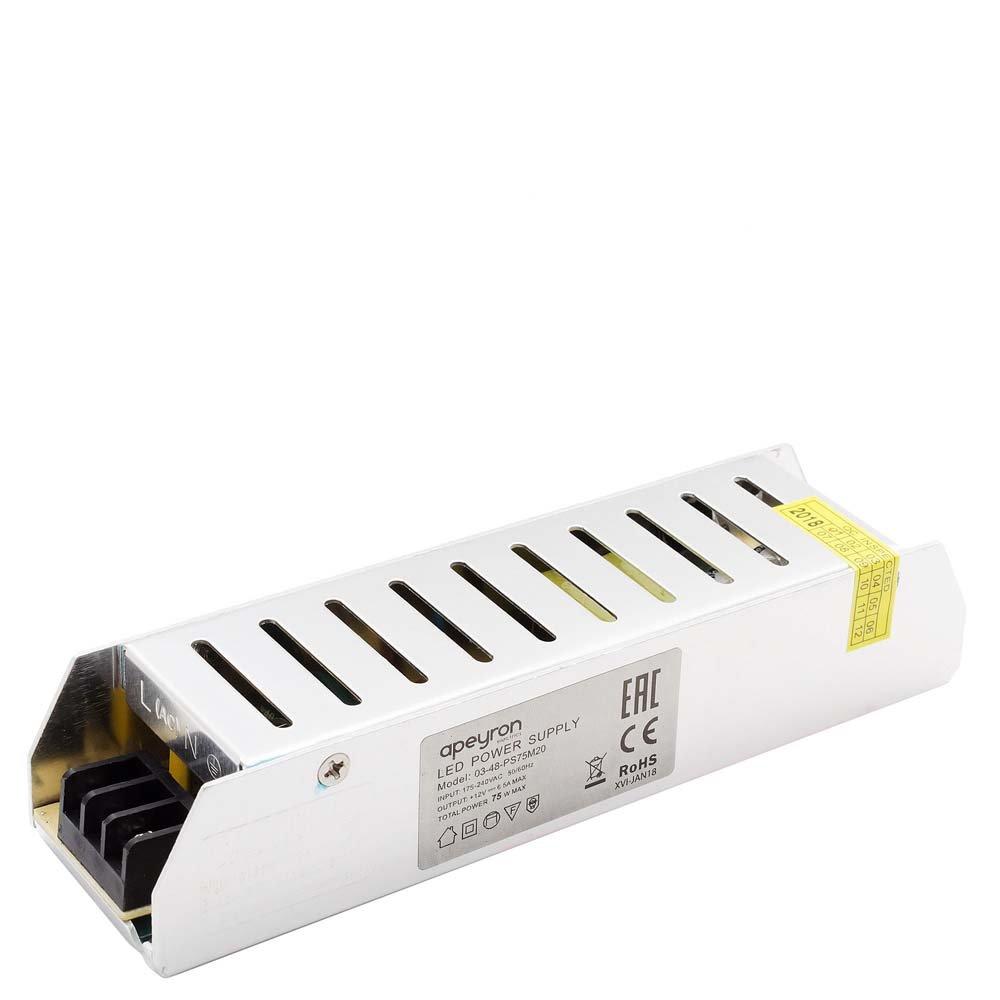 Блок питания для светильника APEYRON electrics 03-48, серебристый блок питания для светильника apeyron electrics 03 46 серебристый