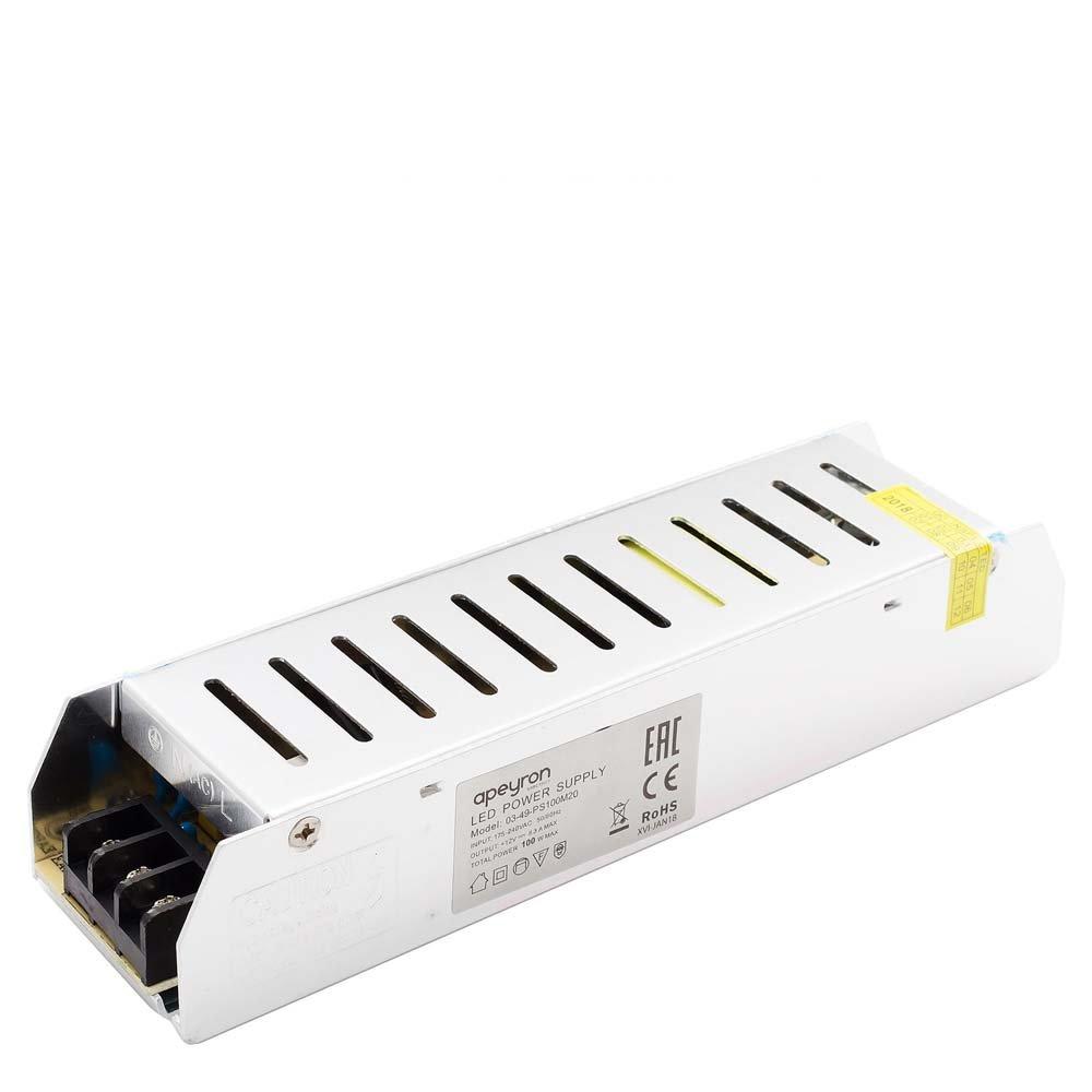 Блок питания для светильника APEYRON electrics 03-49, серебристый блок питания для светильника apeyron electrics 03 46 серебристый