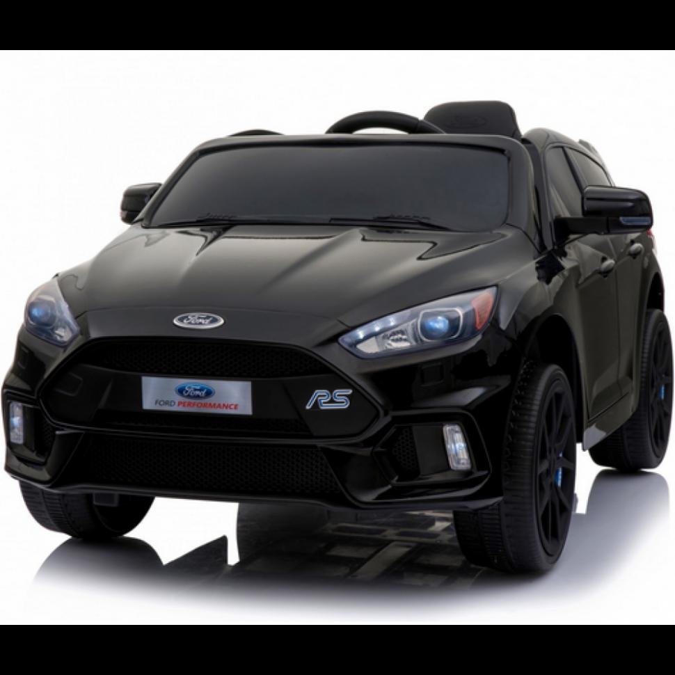 Электромобиль Dake Black 12V 2.4G, черный детский электромобиль dake ford focus rs wine red 12v 2 4g f777 red