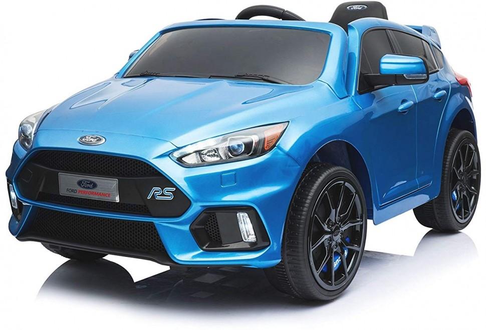 Электромобиль Dake Black 12V 2.4G, синий детский электромобиль dake ford focus rs wine red 12v 2 4g f777 red