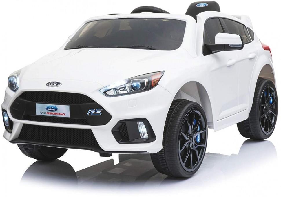 Электромобиль Dake White 12V 2.4G, белый детский электромобиль dake ford focus rs wine red 12v 2 4g f777 red