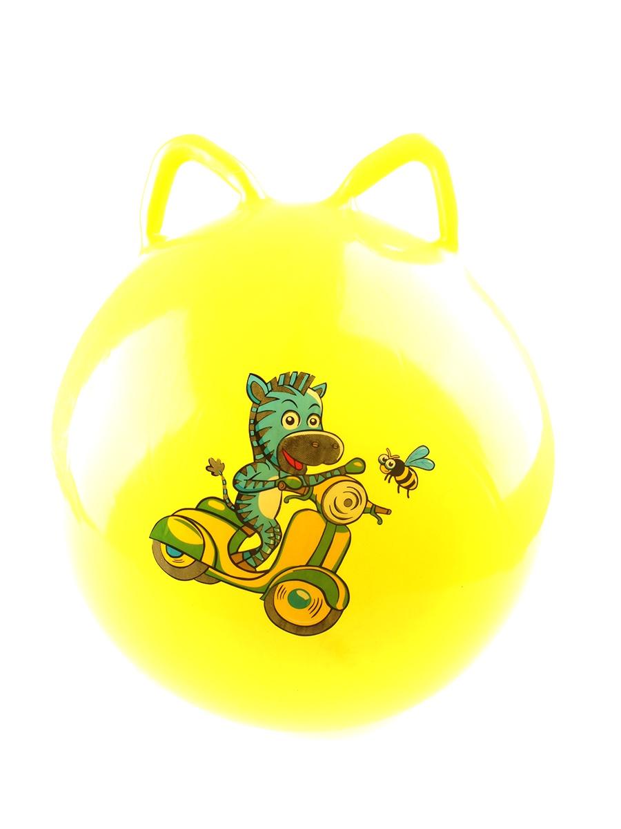 купить Мяч для фитнеса TipTop Мяч прыгун, желтый по цене 800 рублей